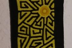 Geldbeutel gelb