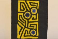 A5 gelb kreis