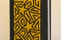 A5 gelb stern