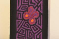 A5 lila schmetterlingl