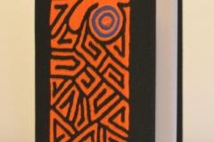 A5 orange schnegge