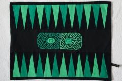Backgammon Schildies 8x6